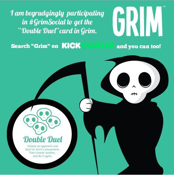 Grim Roll Your Life Game Kickstarter