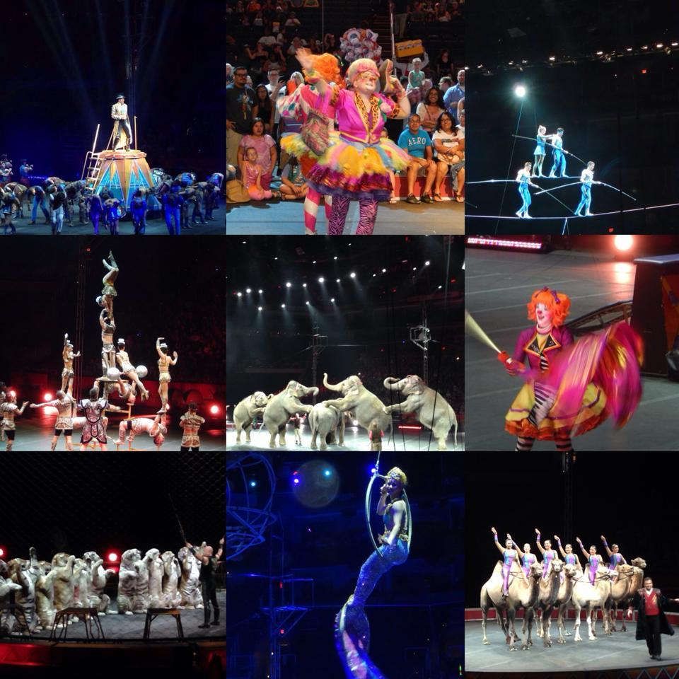Georgia Visit, Circus and New Games